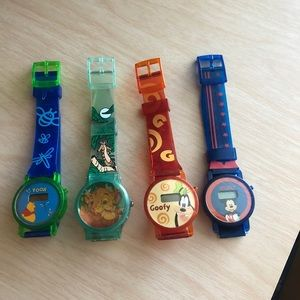 Disney watch lot *NEW